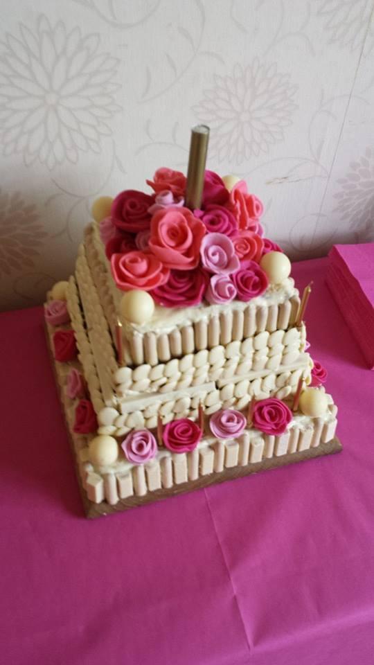 Katies 21st Birthday Cake